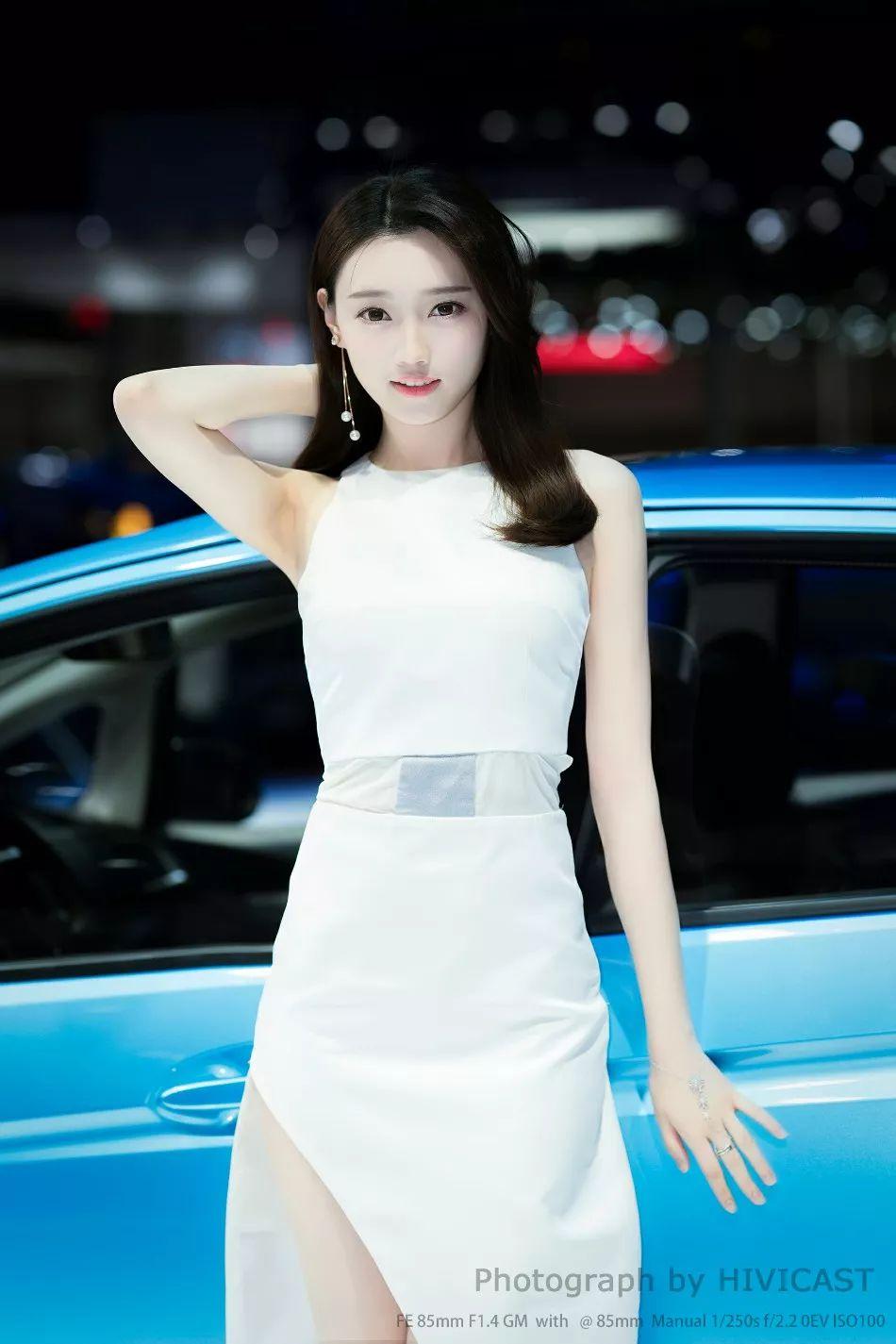 抖音车展车模刘诗琪视频 刘诗琪的资料美照