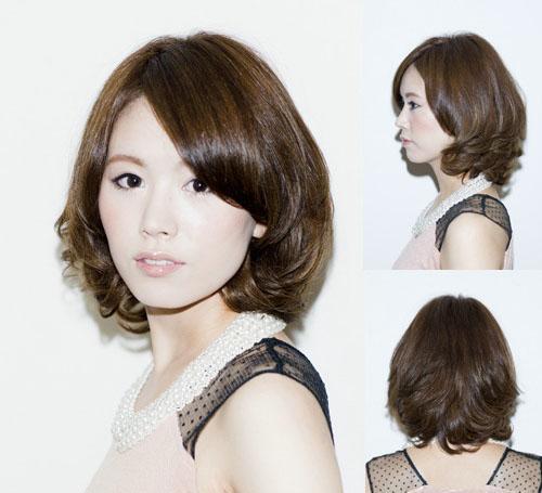烫发之前想换个发型?最hot的中长发烫发造型图片