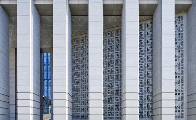 甘肃省高级人民法院新办公楼-北京市建筑设计研究院浙江上宸建筑设计图片