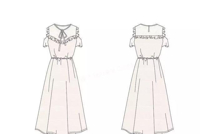 睡衣元素的蕾丝更加大胆放入用于西装或风衣等传统中性风格的款式中似图片