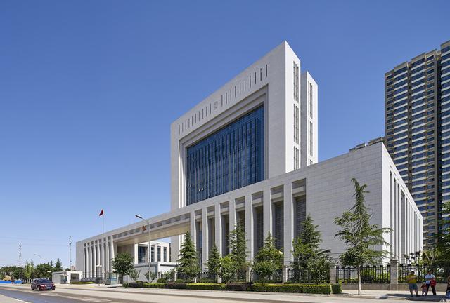甘肃省高级人民法院新办公楼-北京市建筑设计研究院节约海报设计图片