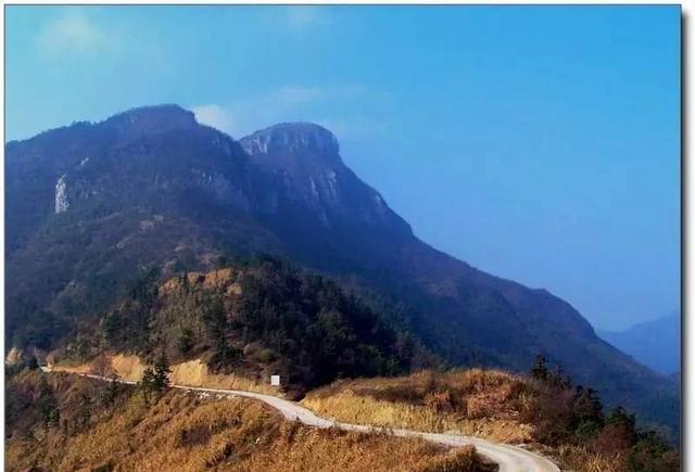 4,黄坪山,七峰山生态旅游区
