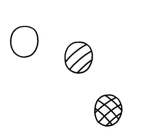 适合幼儿园儿童画的水果简笔画,简单实用,第三篇
