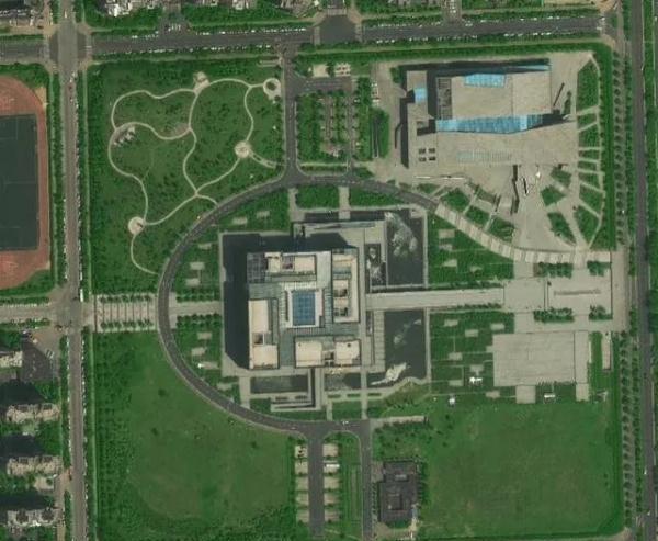 卫星地图上的合肥你见过吗