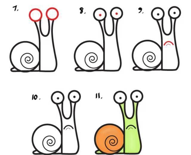 教孩子一分钟画创意简笔画, 能嘚瑟一整年!