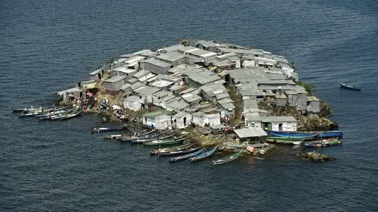 世界上最小的有人生存的岛屿,在上面生活简直