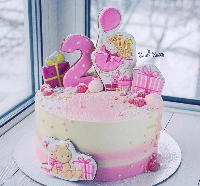 小公主会喜欢这么可爱的蛋糕吗?
