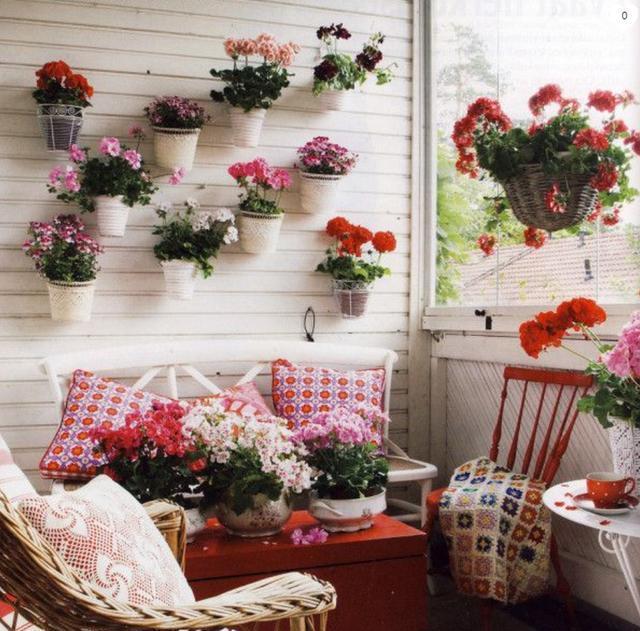 创意设计室内花园阳台装修