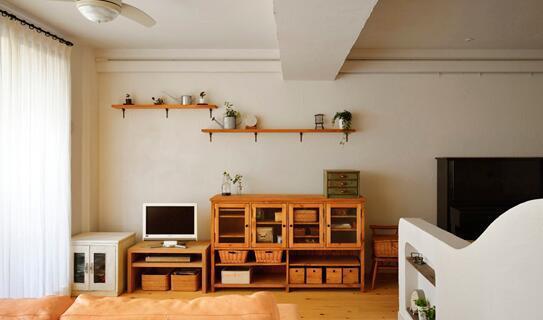 日式和风小清新装修 原木风格尽显文艺雅致