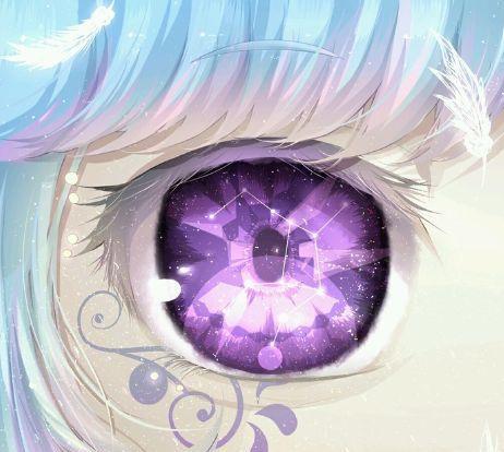 十二星座专属二次元眼睛,天蝎座流光异彩,射手座眼睛好萌啊!