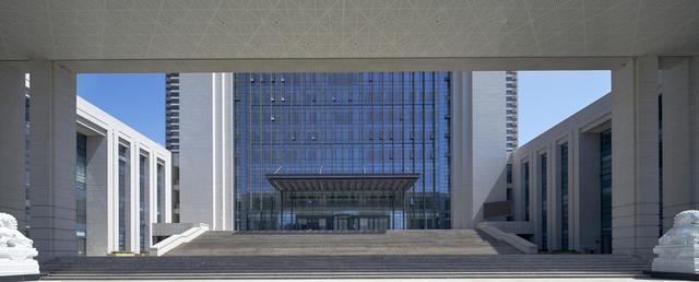 甘肃省高级人民法院新办公楼-北京市建筑设计研究院四川新农村贫困户自建房设计图图片