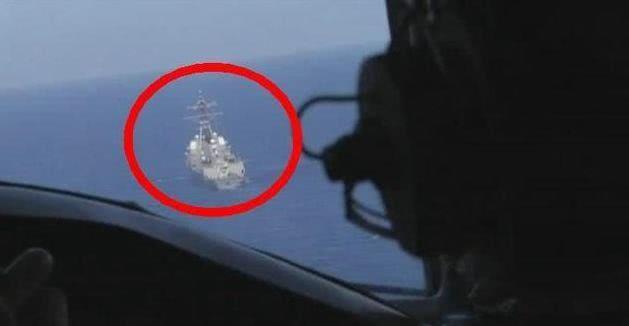 美军舰突入火力圈后回绝撤离!警告无果后,多架战机冲向美战舰!