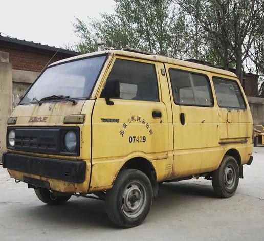 收了一辆天津大发,代表着中国汽车一个时代的符号