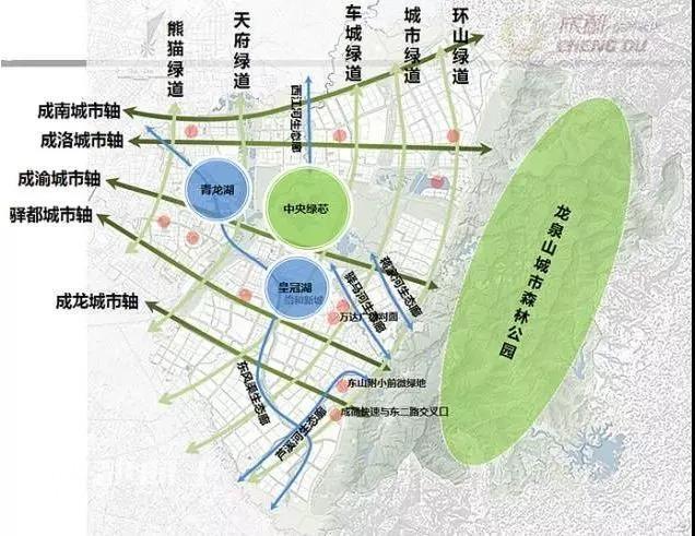 龙泉山城市森林公园全长约100公里的城市绿道也在建设.图片