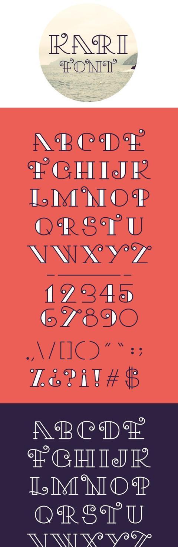 手绘英文字母,想做出漂亮手帐一定要学它