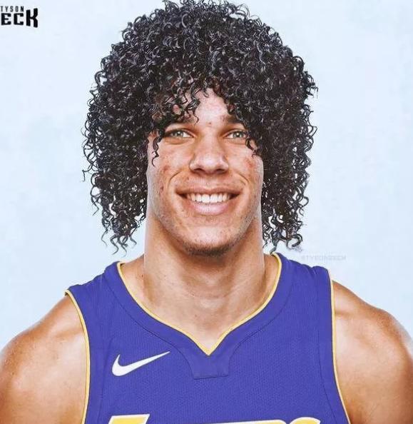当球星遇见这样的发型,库里不再是萌神图片