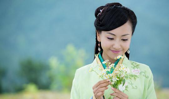 金庸美女十大最古装主排名,到底谁排到第笔下香港美女电影图片