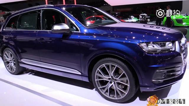 低调但不低能,全新一代奥迪性能SUV SQ7惊艳亮相