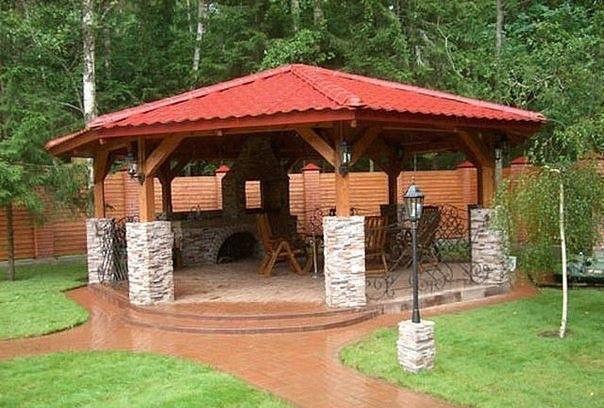 漂亮有创意的凉亭, 国内的公园也参考下吧