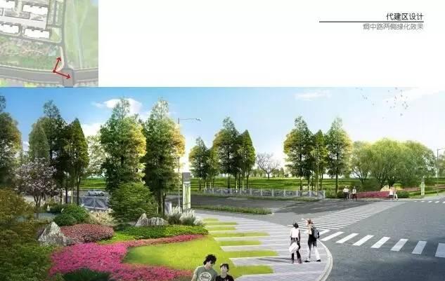 巢湖半岛县界西入口景观项目正式开工,规划效果图这么