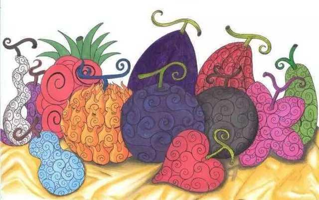 海贼王: 这五颗果实为网友创造, 却已真实存在,不要脸