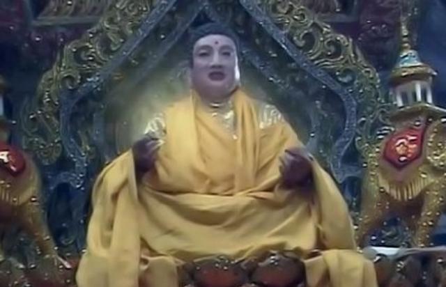 在《西游记》中玉皇大帝的地位实际上是高于如来佛祖的图片