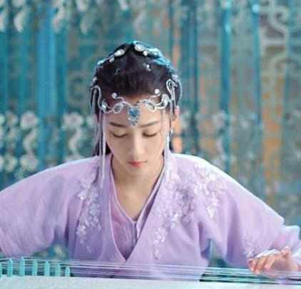 古装剧女星奏琴 刘亦菲唯美 杨幂搞怪 宁静什么鬼 关晓彤是真弹?