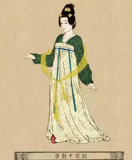 唐朝服饰_古代中国女子服饰变化, 唐朝实在有点接受不了