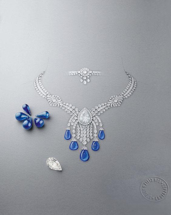 美醉,看珠宝设计师如何手绘高级珠宝