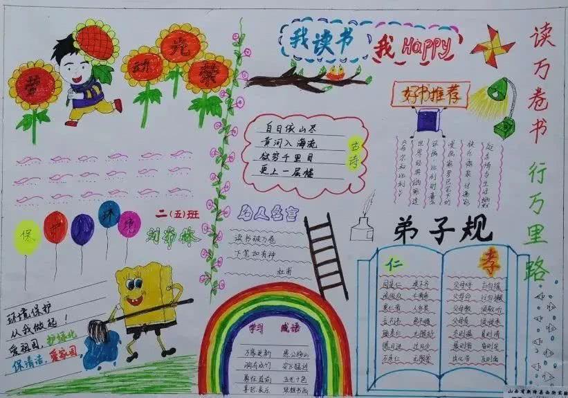庆祝五一劳动节手抄报,赶紧为孩子收藏!