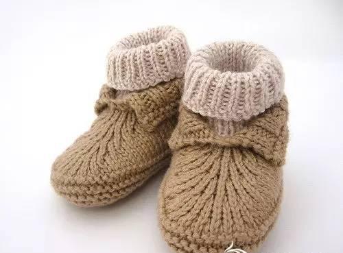 儿童帽子,鞋子的编织「教程」|婴儿鞋|平针|帽子_新浪