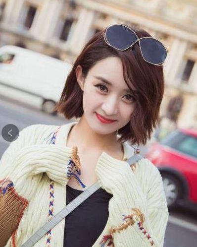 夏天短发发型,来学学赵丽颖,周冬雨,娜扎短发,总有一款适合你