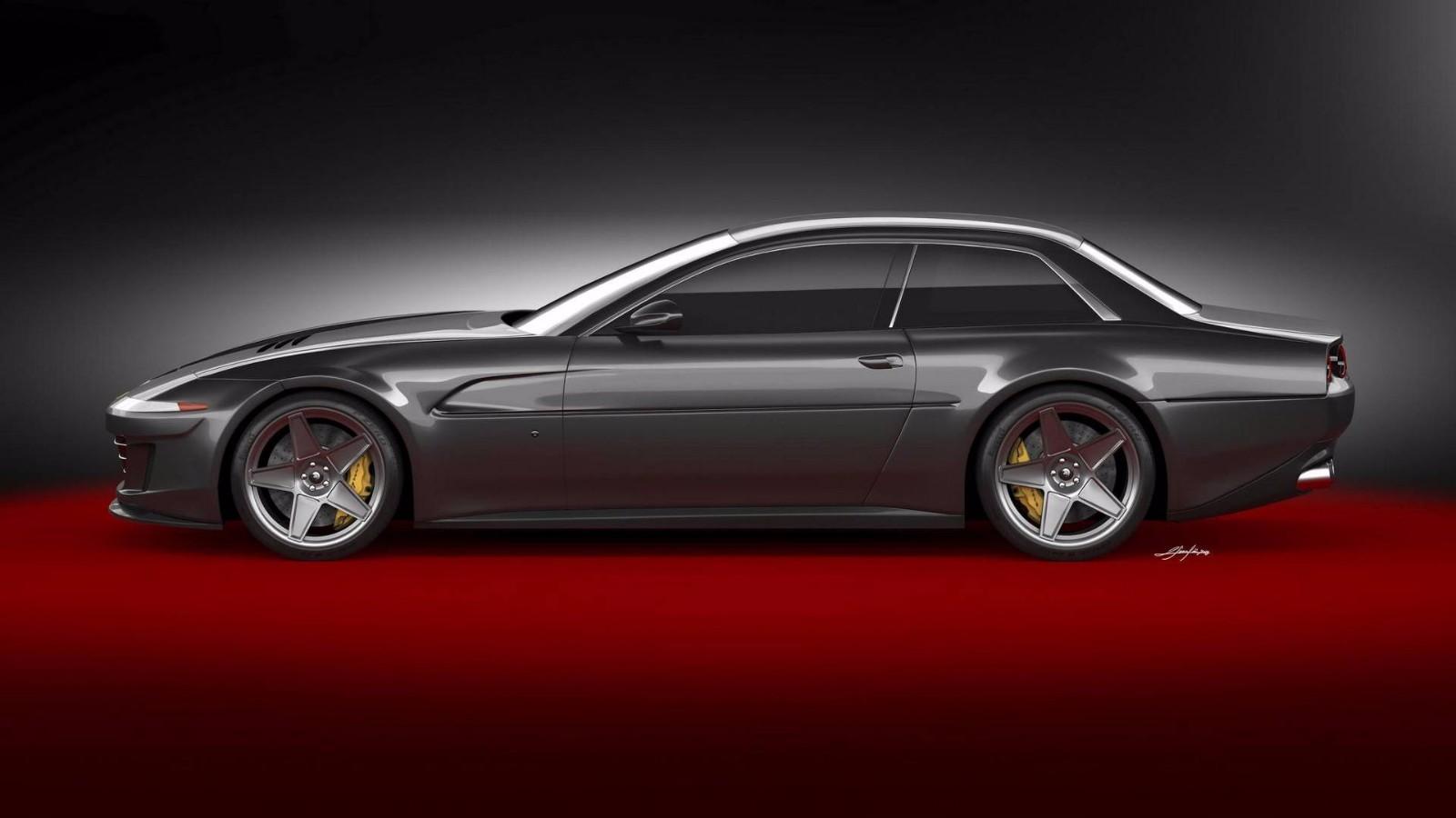 法拉利GTC4Lusso 车型非常复古