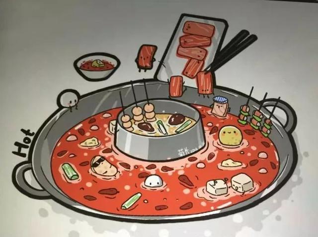 """15、火锅待我千百遍,我待火锅如初恋 @Normally insane: 对火锅绝对是""""火锅待我千百遍,我待火锅如初恋"""",每次吃了火锅,特别是吃很辣,第二天肚子痛得生无可恋的时候,脑子头还在想:肚子肚子,你就痛着吧,什么也不能我阻挡我爱火锅的决心! 16、因为火锅喜欢上冬天 @biubiu: 火锅,是我喜欢冬天的理由之一。 17、喜欢一起哄抢食物的感觉 @鲸鱼Rome: 喜欢八个人抢一块肉的感觉。 18、可以治愈感冒 @euceny_: 感冒了哇?千万不要吃药!相信我,吃顿火锅就好了。 前两天 团长"""