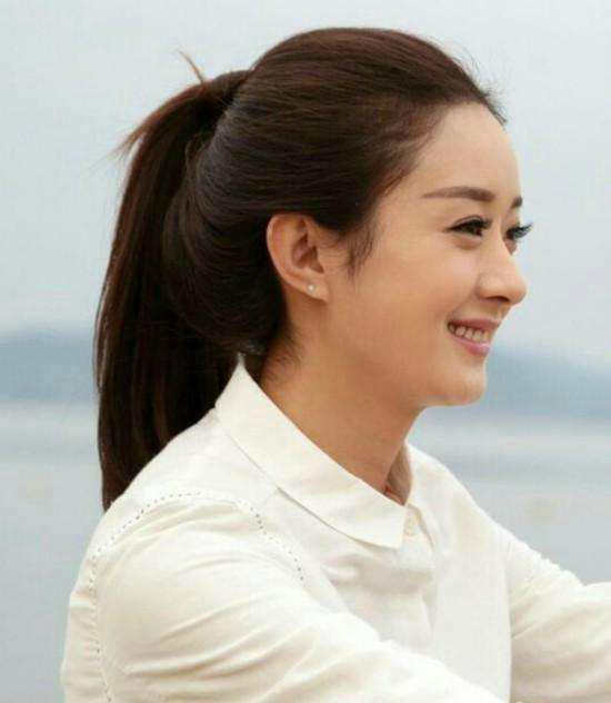 扎马尾也好看的女明星,王丽坤清纯,高圆圆气质,最后一张太美
