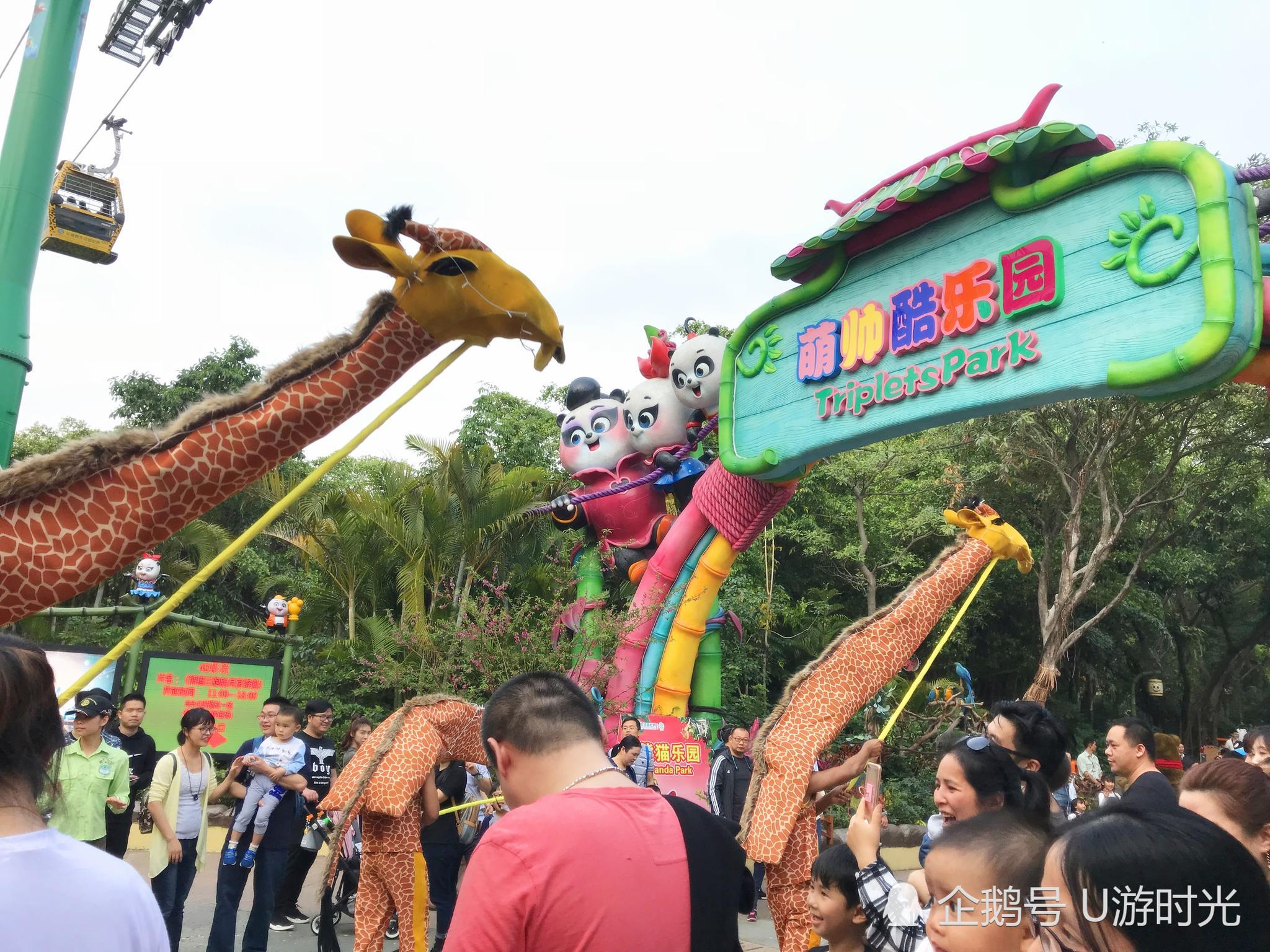 广州长隆野生动物园新玩法