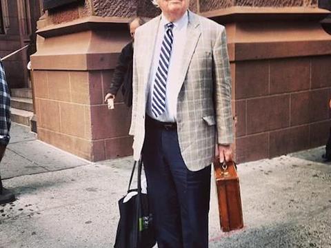 跟着这些时尚爷爷学穿搭