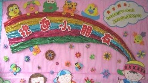幼儿园九月开学主题墙图片大全