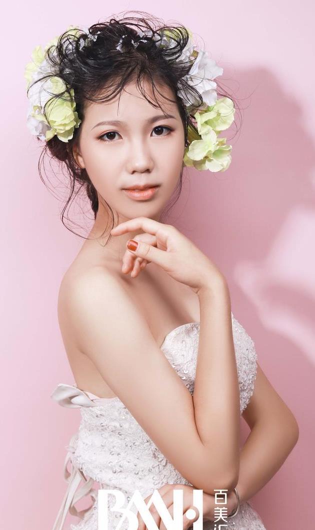 作品 森系新娘造型,圆满你的纯美爱恋