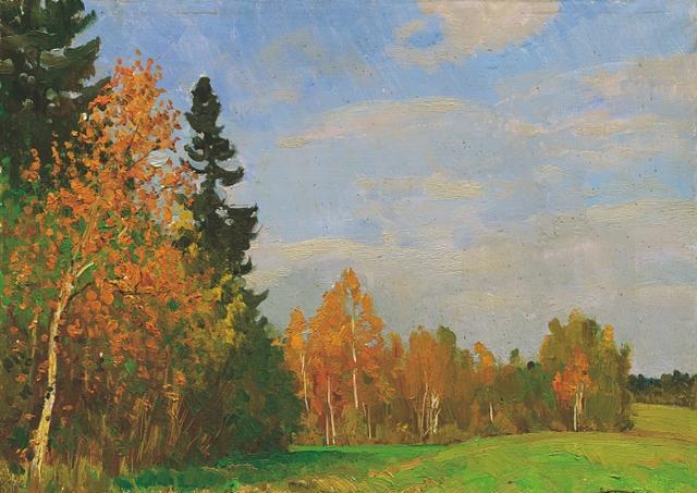 当代风景油画临摹作品,水平绝对大师级别(赠超高清原件50幅)图片
