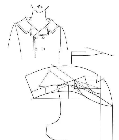 衣领图片手绘图