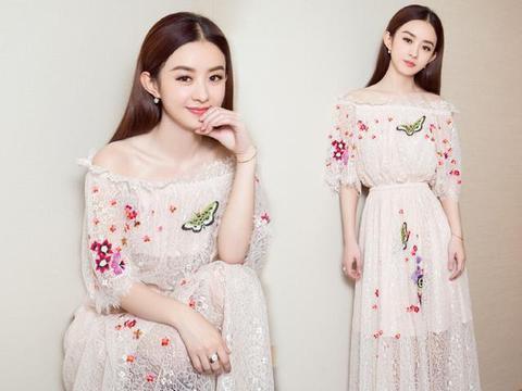 这些明星同款连衣裙, 画面太美, 我不敢看