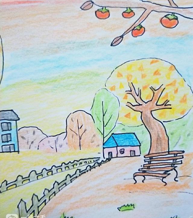 【亲子绘画】秋天是大自然的调色板