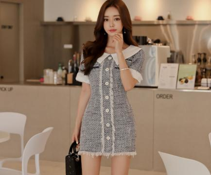 珠珠时尚:青春尽情绽的放,短裙配高跟鞋,有一种美叫做你美!!