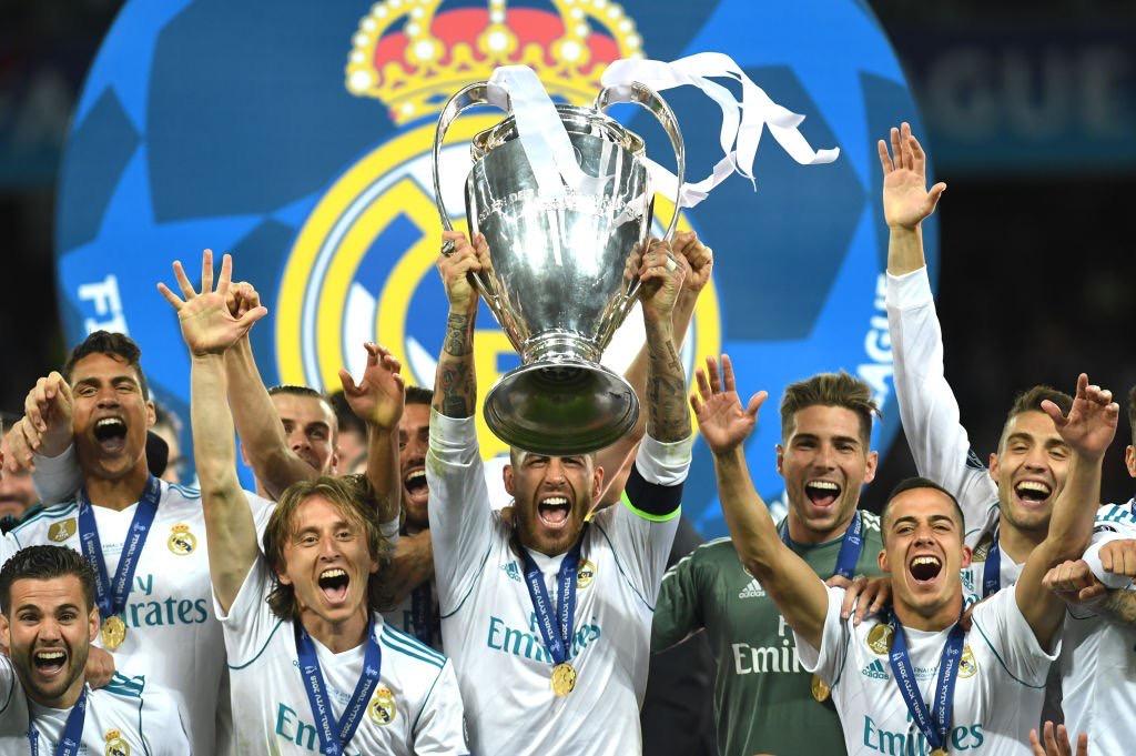 3-1,皇马击败利物浦,夺得2018年欧冠冠军,完成欧冠三连冠壮举图片