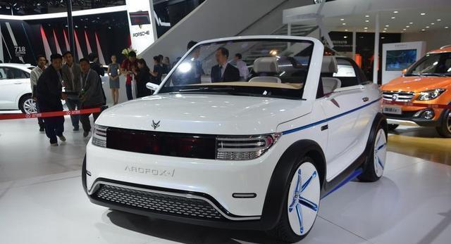 这台国产新能源车, 不输smart