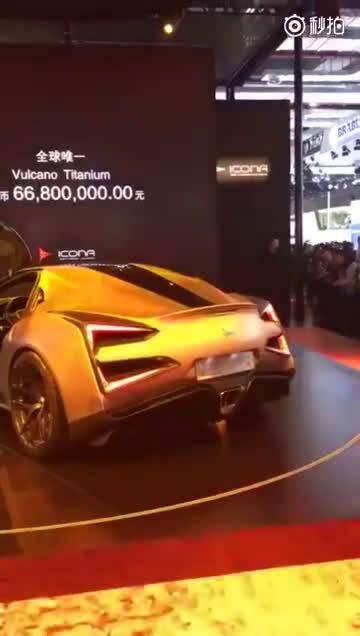 在刚刚开幕的上海车展上