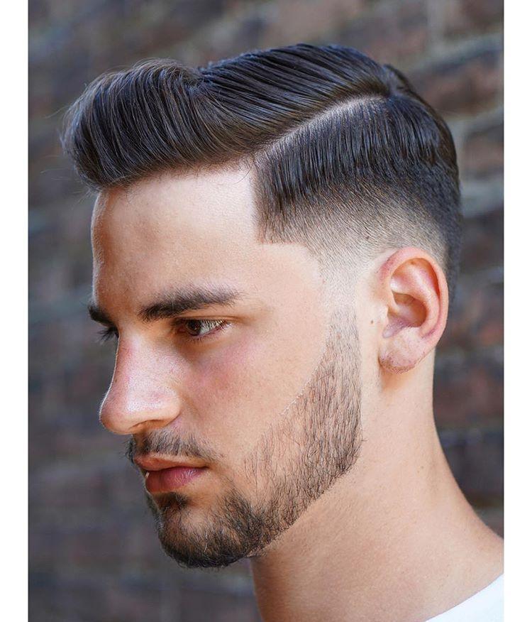 世界美发大师剪的渐变油头,发型效果很不一样图片