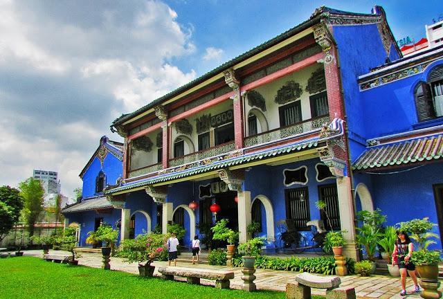 张弼士故居/蓝屋 blue house
