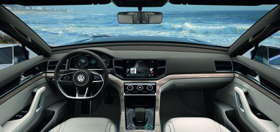 全新大众CrossBlu, 配混动四驱系统, 预计售价在30万左右起步